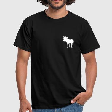 Elg - Moose - T-skjorte for menn