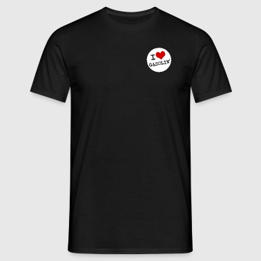 I LOVE GASOLIN' - Herre-T-shirt