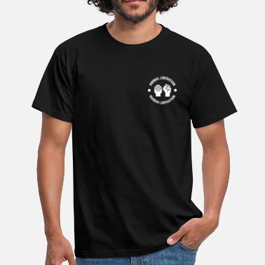 Animal Liberation Animal Liberation Human Liberation - Men's T-Shirt