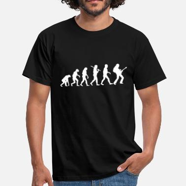Evolution Gitarre Evolution Rock Guitar - Männer T-Shirt