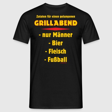 suchbegriff 39 grillabend 39 t shirts online bestellen. Black Bedroom Furniture Sets. Home Design Ideas