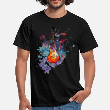 Gibson Les Paul Les Paul Guitar Splash - Men's T-Shirt