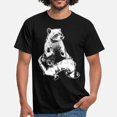 Raccoon racoon - Men's T-Shirt