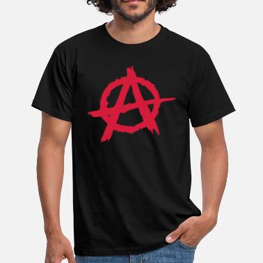 Punk Anarchy Anarchie / Anarchy A - Men's T-Shirt
