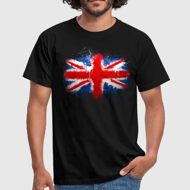 Union Jack Scotland Union Jack Graffiti - Men's T-Shirt