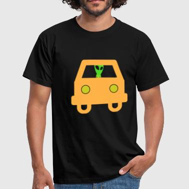 Autonaut Alien car space gift - Men's T-Shirt
