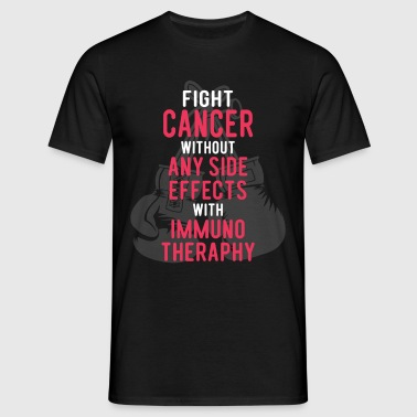 Fight Cancer With Immunotheraphy - Men's T-Shirt