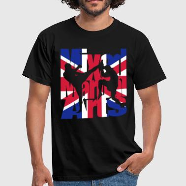 Mixed UK Mixed martial arts - Men's T-Shirt