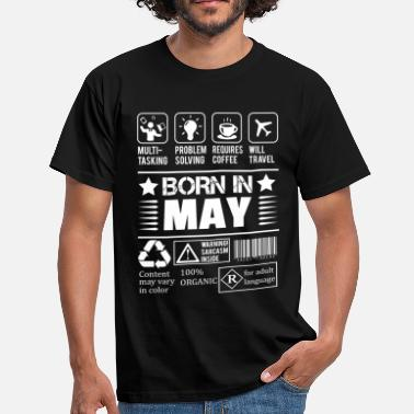 Born In May Born In May - Men's T-Shirt