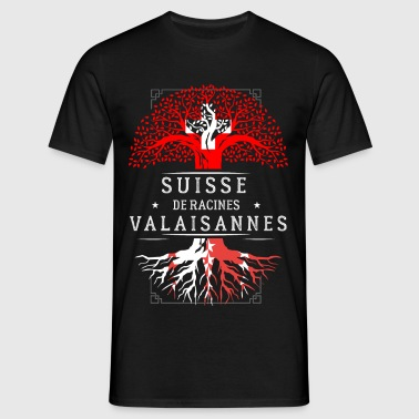 Racines Valaisannes - T-shirt Homme