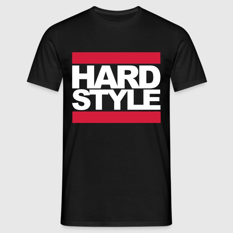 Hardstyle Box Rave Quote - Mannen T-shirt