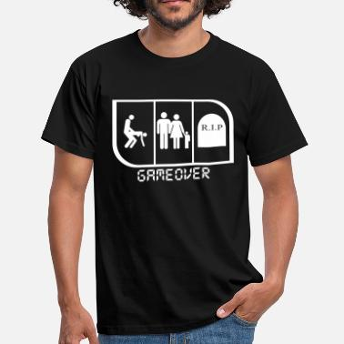 Game Over GAME OVER - Men's T-Shirt