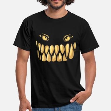 Monster smile with your monsterface  - Men's T-Shirt