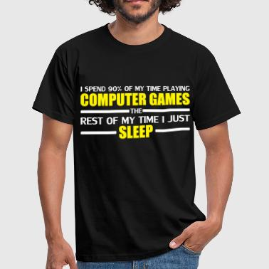 Computer Games - Men's T-Shirt