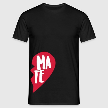 Soul Mate Couple Shirt - Männer T-Shirt