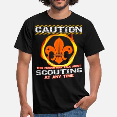 Boy Scout Careful boy scout - Men's T-Shirt