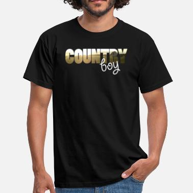 Country Boys Country boy - Men's T-Shirt