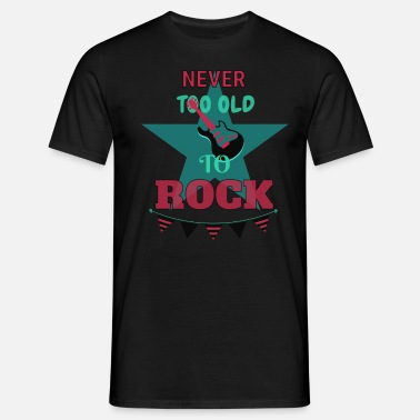 Tank 90s Never too old to rock - Men's T-Shirt