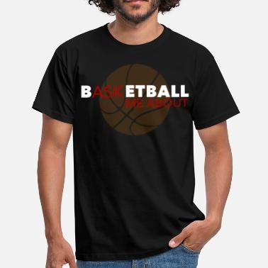 Basketball Design Cool design for basketballer basketball gift - Men's T-Shirt