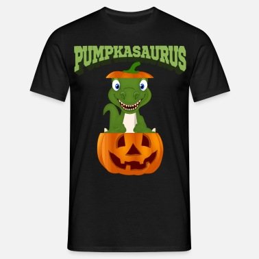Halloween Dino, T-Rex, dinosaur gift idea - Men's T-Shirt