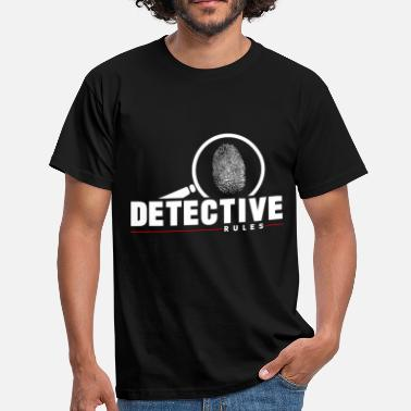 Sherlock Detective Rules - Men's T-Shirt