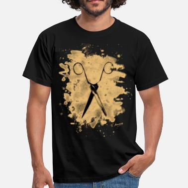 Manson Scissors - bleached natural - Männer T-Shirt