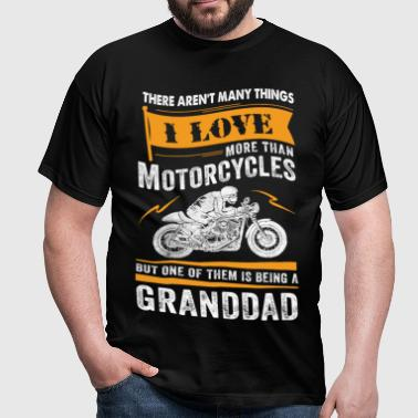 Motorcycles Granddad - Men's T-Shirt