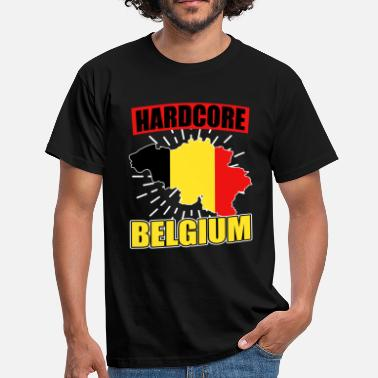 National Colours Belgium nationality national colors - Men's T-Shirt