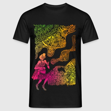 Adowa Dance - Men's T-Shirt