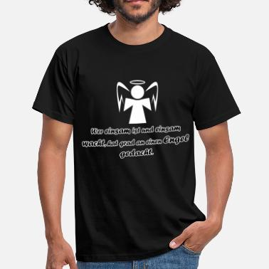 Loneliness Angel - loneliness - Men's T-Shirt