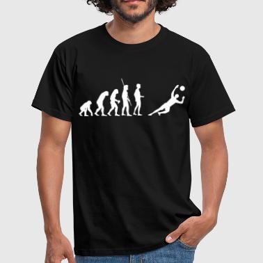 gardien de but Evolution enregistre  - T-shirt Homme