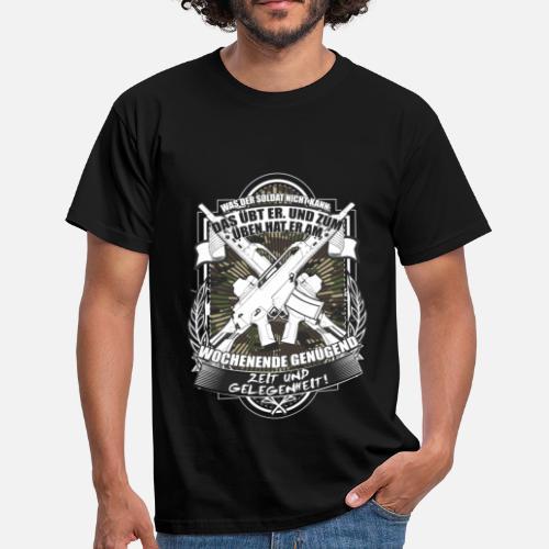 T Bundeswehr Shirt Libellé Soldat Allemand Homme Chemise Spreadshirt w1WIq