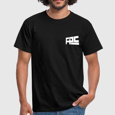 FPS Small Logo Tee Black - Mannen T-shirt