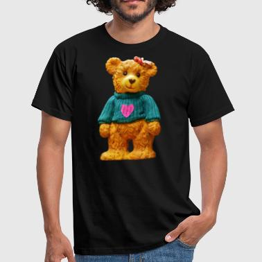 Teddy bear as a gift for boys and girls - Men's T-Shirt