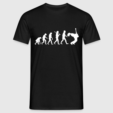 Evolution of Leadguitar - Männer T-Shirt