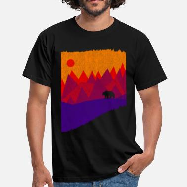 Mountain Bear Hear the mountain's call - Men's T-Shirt