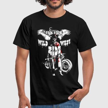 Wild West Ride White - T-shirt Homme