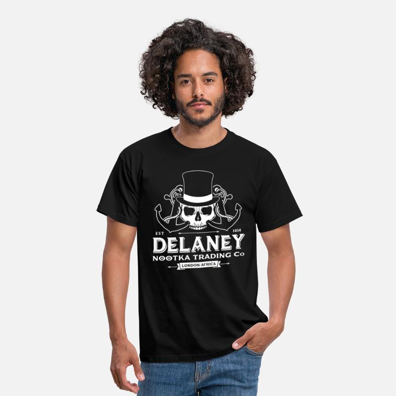 Africa T-Shirts - Delaney Nootka Trading Co. - Men's T-Shirt black