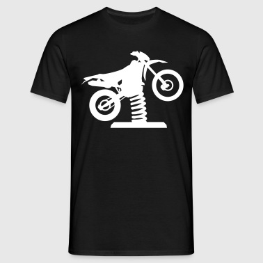 Wackel Enduro Cross - Männer T-Shirt
