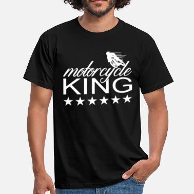 motorcycle king - Männer T-Shirt