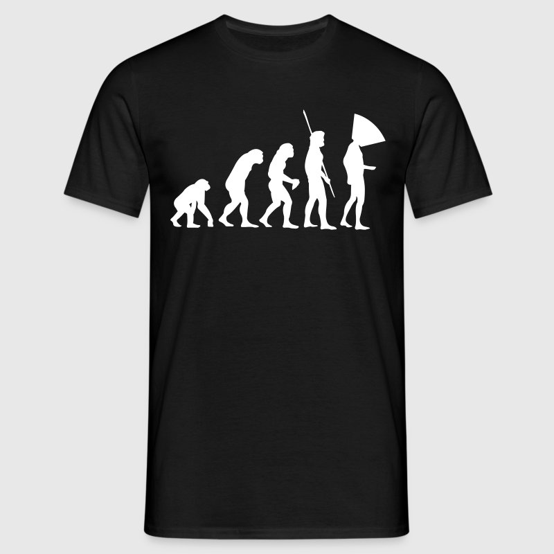 Evolution Dog Collar  - Men's T-Shirt