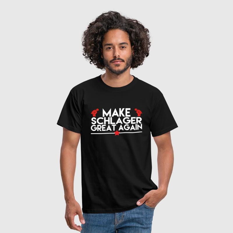 MAKE SCHLAGER GREAT AGAIN - Männer T-Shirt