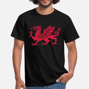 Welsh Dragon Welsh Dragon - Men's T-Shirt