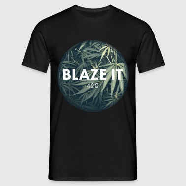 BLAZE IT - Männer T-Shirt