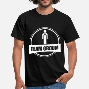 Stag Groom TEAM GROOM - Stag do - Men's T-Shirt
