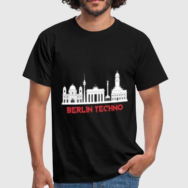 Techno Parade BERLIN TECHNO - T-shirt Homme