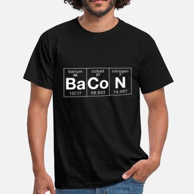 The Elements Of Bacon The Elements of BaCoN - Men's T-Shirt