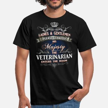 Veterinary Surgeon Noble professions shirt for the veterinarian - Men's T-Shirt