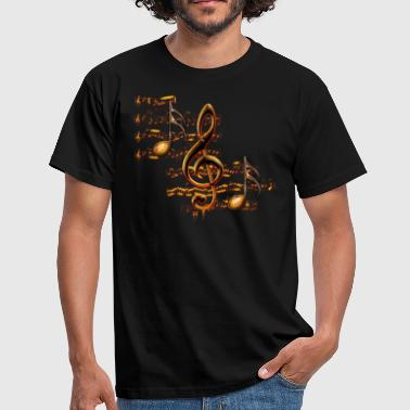 Notes Clef de Sol E - T-shirt Homme