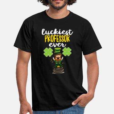 College Luckiest Professor Ever Gift - Men's T-Shirt